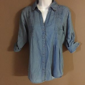 Vintage America Chambray denim shirt